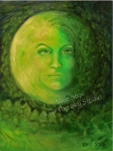 """Emerald Moon"" original sold"