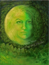 """Emerald Moon"" only prints available"