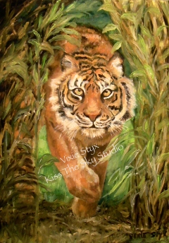 Original oil painting is Sold 8x10 giclee print on archival paper $25 plus shipping my watermark will not appear